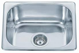 Small Top Mount Inset Stainless Steel Kitchen Sinks With Fittings - Small kitchen sinks