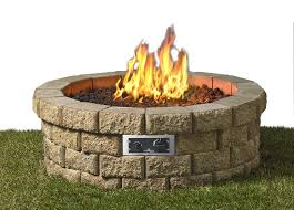 Bond Propane Fire Pit The Outdoor Greatroom Company Hudson Propane Fire Pit Kit Wayfair