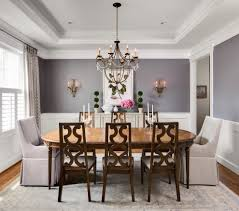 Dining Room Chandeliers Transitional Grey And Purple Dining Room Contemporary With Olive Green