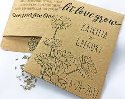 personalized seed packets let grow seeds etsy