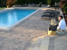 Pool Patio Pavers by Pool Decks Stone Center Of Va