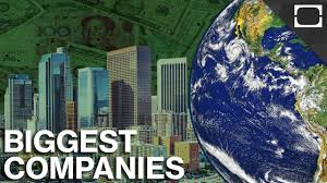 what are the biggest companies in the world youtube