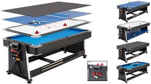 pool and air hockey table tim franklin 7ft revolver 3 in 1 pool air hockey table tennis game