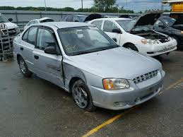 hyundai accent 2001 for sale kmhcg45c81u225064 2001 silver hyundai accent gl on sale in ia