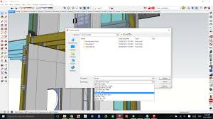 revit imports how to use a sketchup model in revit plusspec