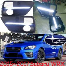 tribeca subaru 2015 online shop car styling subar wrx daytime light 2015 2017 chrome