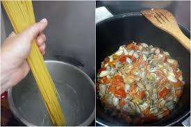 cuisiner des tellines spaghetti aux tellines mercredirose