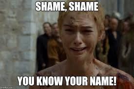 Shame On You Meme - shame shame imgflip