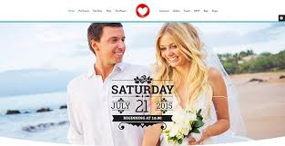 le site du mariage thèmes pour créer un site web de mariage thèmes