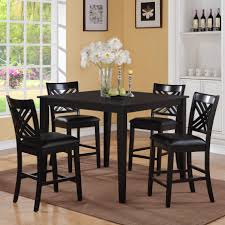 square kitchen dining tables you astonishing square dining table for 4 homesfeed in black