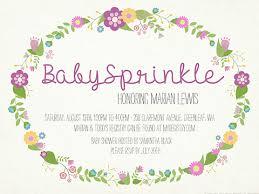 baby sprinkle invitations smilebox