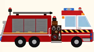 game cartoon for children fire truck build fire engine repair