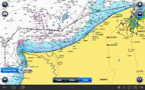 Brunei Map Brunei To Miri Sage On Sail