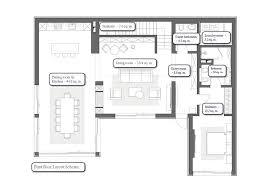 interior design floor plan gorgeous contemporary villa in montenegro part 1 home interior