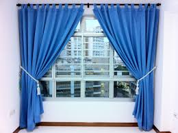 White House Gold Curtains by Modern Blue Curtains That Can Be Decor With White Concrete Wall
