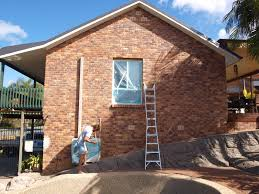 painting the exterior brick walls of our home glamour coastal living