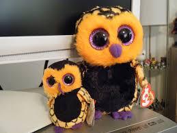 halloween owls seeking treasures in the golden afternoon antique halloween