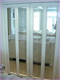 Mirrored Bifold Doors For Closets Mirror Closet Doors Framed Door Design Install Mirror