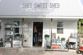 chipping with charm shed sweet shed boutique recap