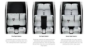 Seating Option Tesla Model X In 7 Seat Configuration Finally Gets Fold Flat 2nd