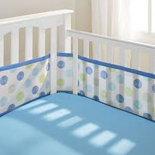 breathable baby mesh crib bumper pads review