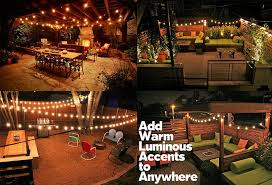amazon com lampat string lights vintage backyard patio lights