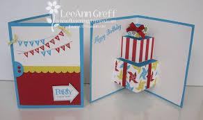 fun pop up birthday card tutorial flowerbug u0027s inkspot