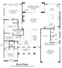 toll brothers at robertson ranch the bluffs the cristiana home 1st floor floor plan