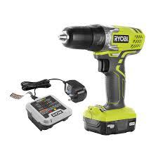 ryobi 12 volt lithium ion 3 8 in cordless drill driver kit