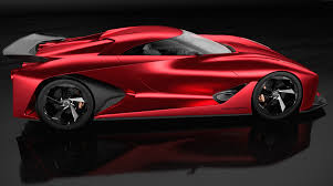 red nissan car wallpaper nissan 2020 vision gran turismo red concept nissan