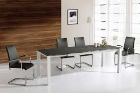 Glass Extendable Dining Table And 6 Chairs Extending Dining Table And 6 Chairs Implantsr Us