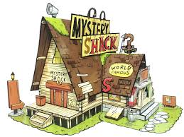 Mystery Shack Floor Plan by Gravity Falls Mystery Shack Paper Toy Diy Paper Craft Kit