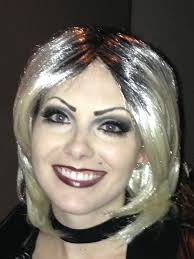 halloween makeup bride of chucky artistry by briana