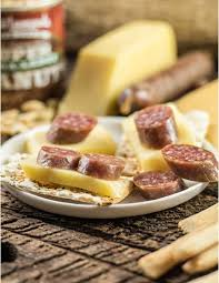 sausage and cheese gift baskets manly signature party spread sausage cheese gift baskets hickory