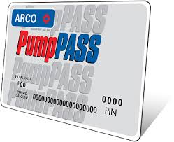 prepaid gas card payment options arco