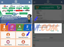 pendaftaran tutorial online ut cara cetak kartu e id bpjs kesehatan sendiri opikini com