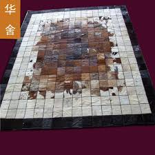 Cowhide Leather Rug Compare Prices On Leather Carpets Online Shopping Buy Low Price