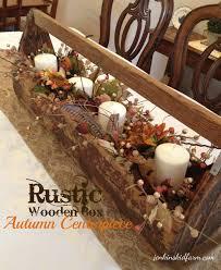 jenkins kid farm the rustic wooden box autumn centerpiece loversiq