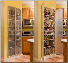 Kitchen Pantry Storage Cabinets Recessed Kitchen Pantry Cabinet Kitchen Appliances And Pantry