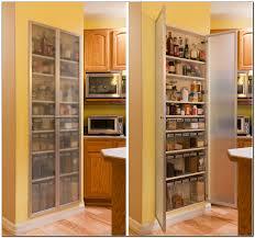 White Kitchen Pantry Storage Cabinet Recessed Kitchen Pantry Cabinet Kitchen Appliances And Pantry