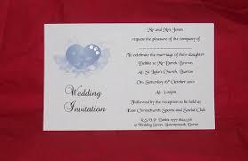 wedding invitations day or evening personalised elegant heart