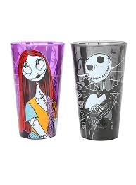 the nightmare before sally pint glasses set