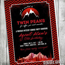 murder mystery dinner party invitation birthday party twin