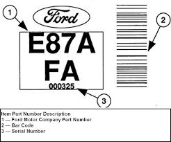 ford f150 transmission identification codes help me my has a 2000 f150 2wd 4 2l with a manual 5