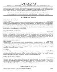 Paraprofessional Resume Sample Resume Objectives Samples General General Resume Objective Samples