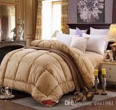 Woolen Duvet 2017 Max 4 7kg Winter Camel Hair Wool Quilt Luxury Thicken