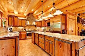 Cabin Kitchen Cabinets Log Cabin Kitchen Black Cabinets Log Cabin Kitchen Cabinet Ideas
