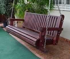 forever redwood garden bench swing perfect arbors