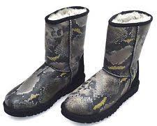 s ugg australia black joey boots ugg australia s ankle boots ebay