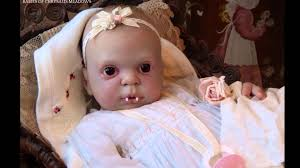 baby doll makeup halloween winter rose a halloween vampire baby doll by amanda hannon youtube